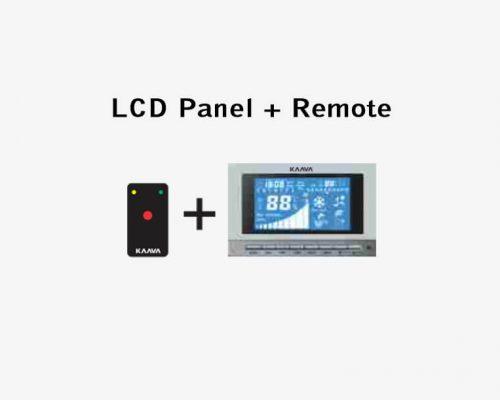 LCD Panel + Remote